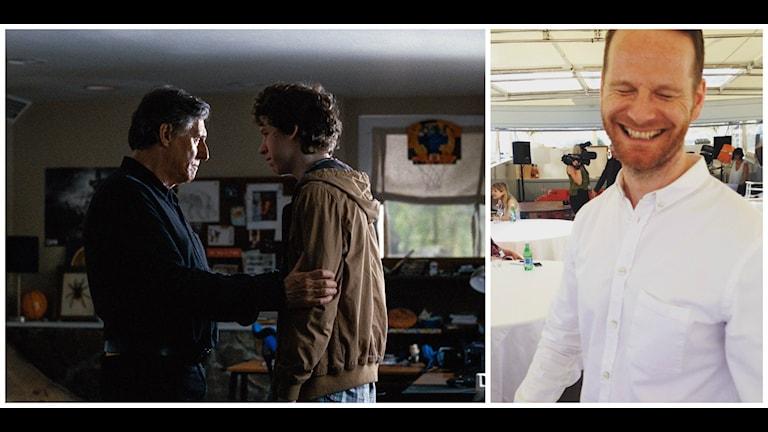 Gabriel Byrne och Devin Druid i Joachim Triers film Louder than Bombs. Bild: Triart/Emma Engström