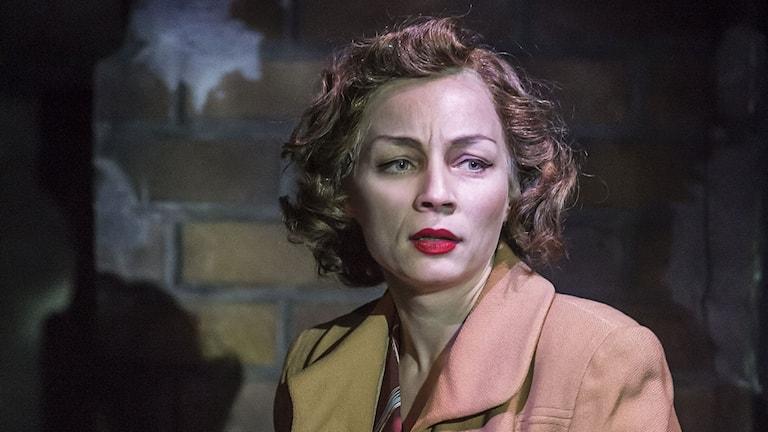 Sara Jangfeldt i Lola Blau premiär 13 november på Lilla scenen Kulturhuset Stadsteatern. Foto: Petra Hellberg