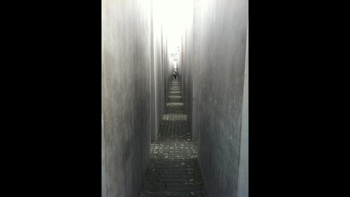 Holocaust-Mahnmal - Berlin. Foto: Per Feltzin/SR