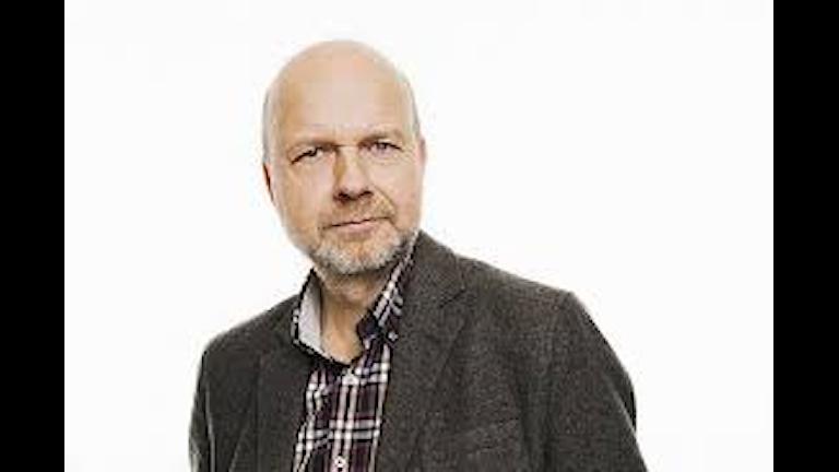 """Gunnar Bolin undrar vilka """"vi"""" debattörerna menar. Foto Mattias Ahlm SR."""