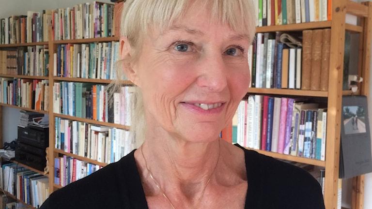 Carola Hansson. Foto: Anna Tullberg/SR