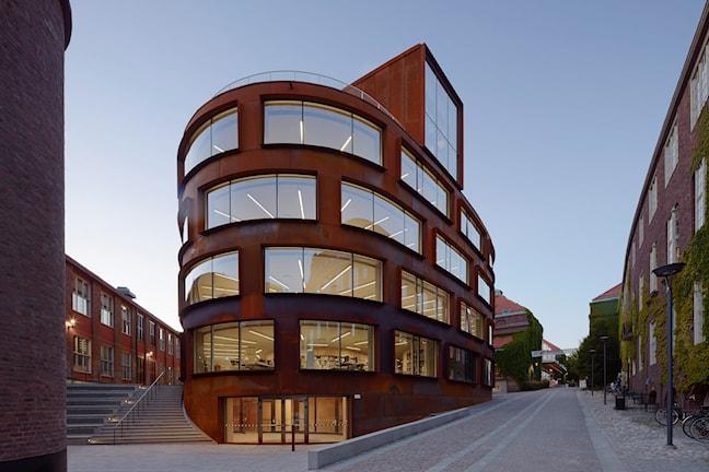 Den vinnande Arkitekturskolan på KTH.