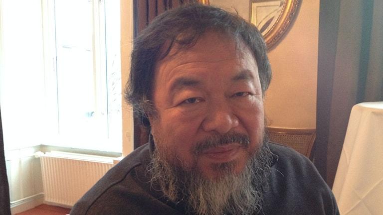 Ai Weiwei i Århus. Foto: David Richter/SR