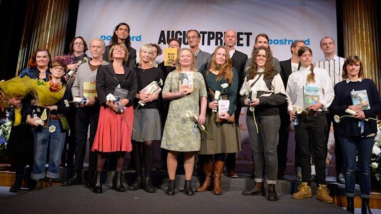 Nominerade till Augustpriset 2015. Foto: Wilhelm Stokstad / TT