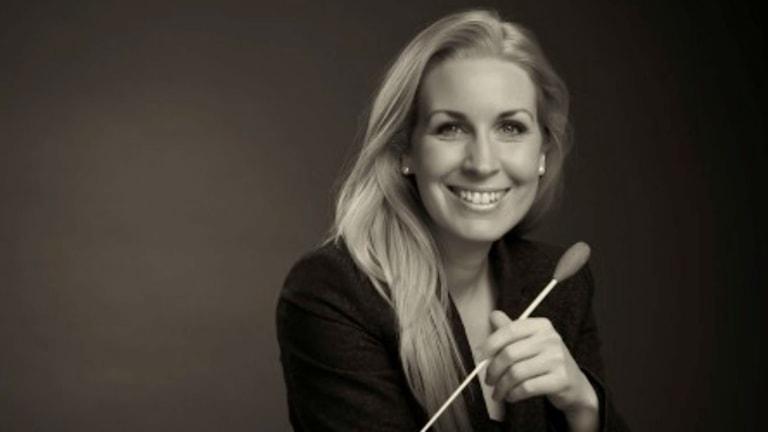 Cathrine Winnes. Foto: Stockholms läns blåsarsymfoniker
