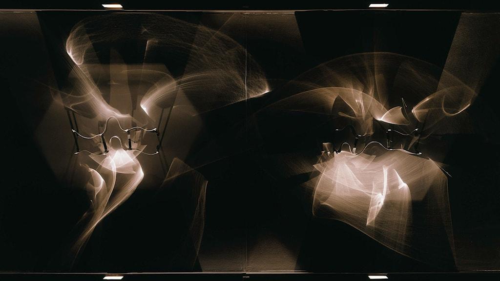 Julio Le Parc, Continuel-lumière avec formes en contorsions (left part), 1966/1996. Foto: Adrian Fritschi, Zürich