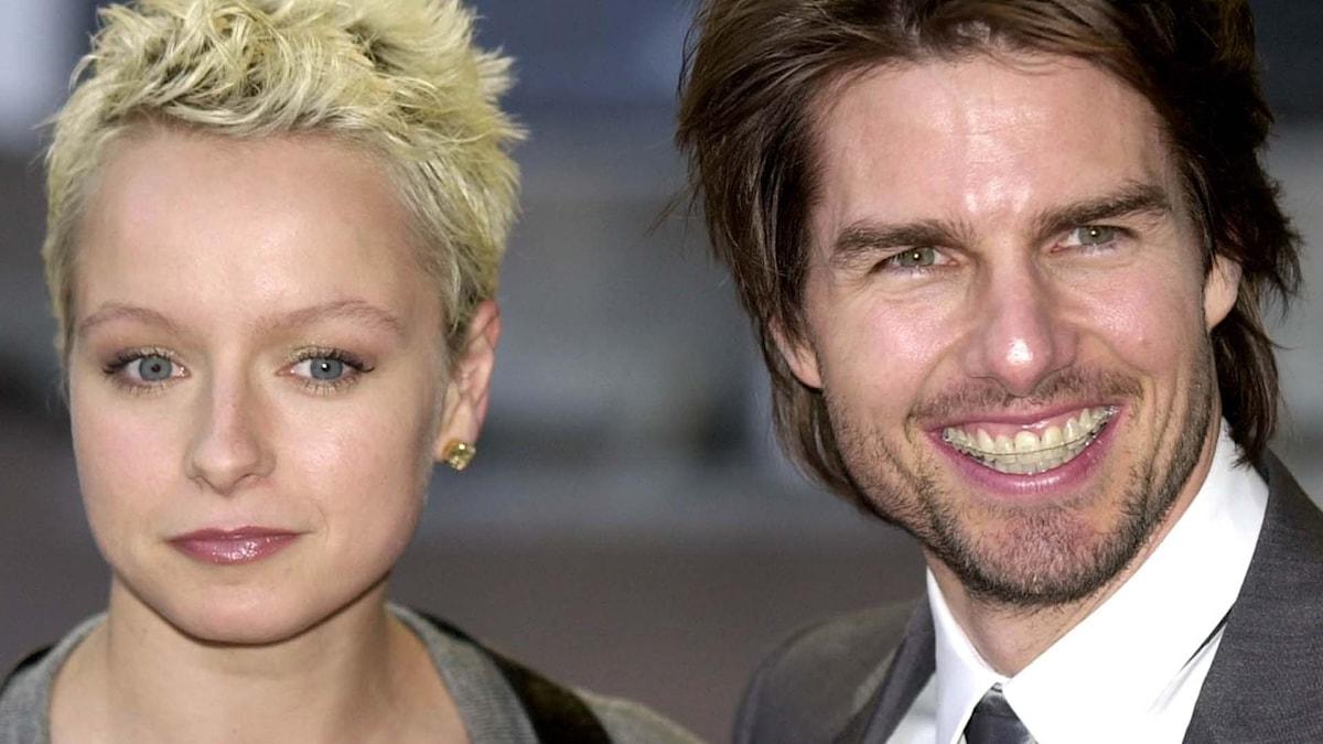 "Samantha Morton och Tom Cruise spelade huvudrollen i ""Minority Report"". Foto: AP Photo/Richard Lewis"