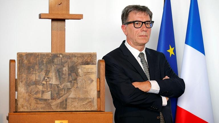 Serge Lasvignes, chef på Centre Pompidou. Foto: Francois Mori/AP/TT
