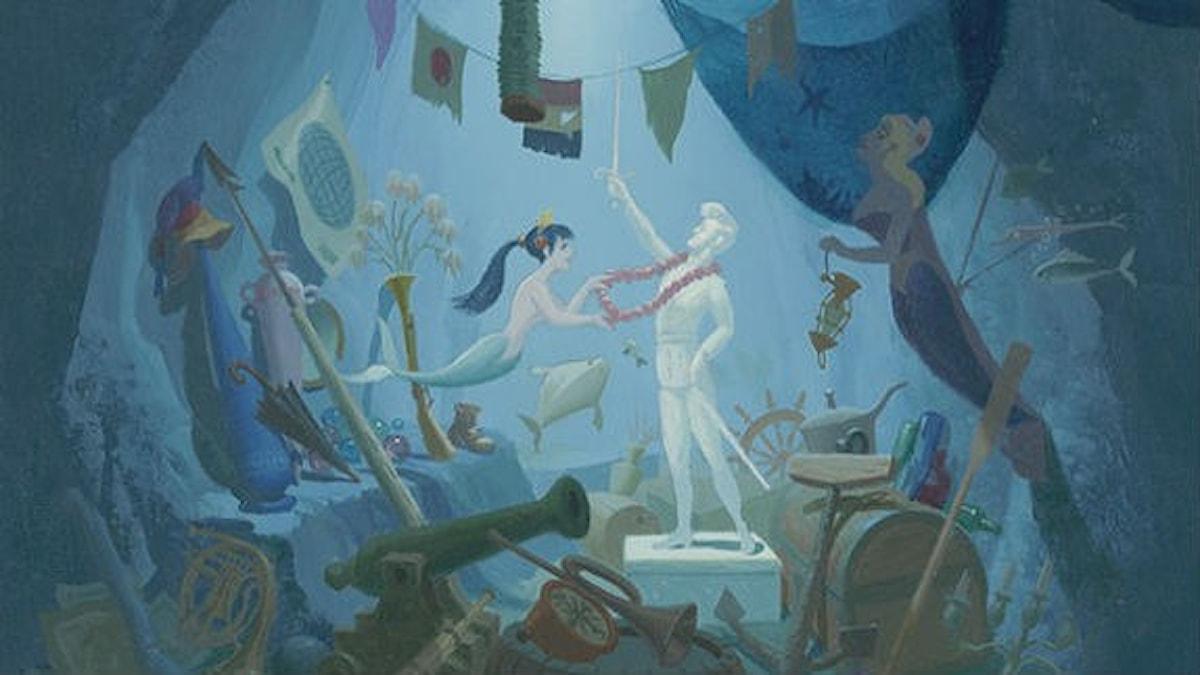 The Little Mermaid, Disney Studio Artist (1989) © Disney.