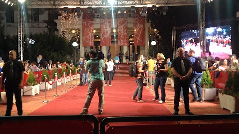 Filmfestivalen i Sarajevo. Foto: Sveriges Radio.