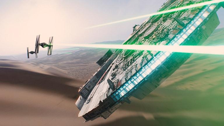 Från filmen Star Wars: The Force Awakens. Foto: Disney/TT.