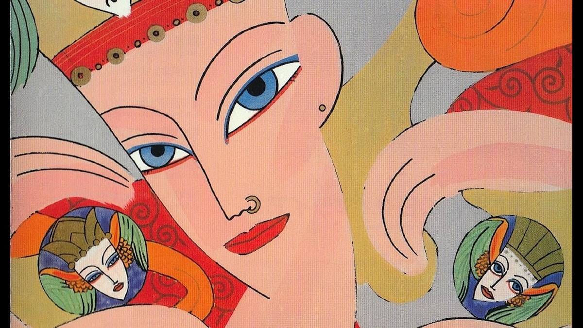 """Skivomslaget  till det japanska bandets Mariahs album """"Utakata no hibi"""" från 1983"""