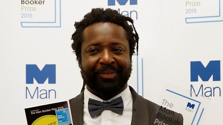 Marlon James med Man Bookerpris. Foto: Alastair Grant/AP/TT