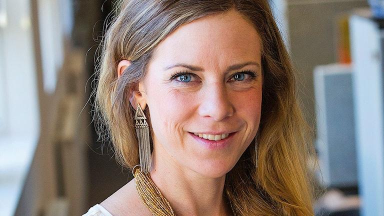 Västerbotten kurirens kulturredaktör Sara Meidell. Foto: Curt Dahlgren