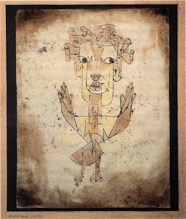 Angelus Novus av Paul Klee 1920 Foto: Public Domain