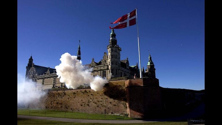 Hamlets slott Kronborg i Helsingör. Bild: Kim Agersten/AP/TT