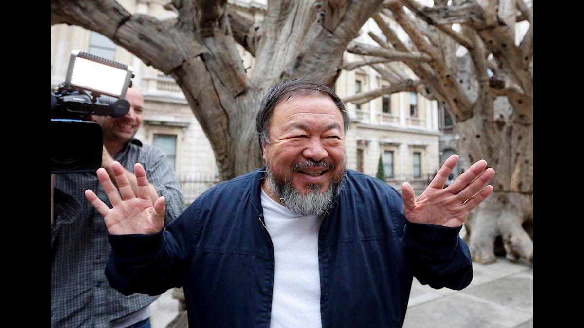 Ai Weiwei Bild: Frank Augstein/AP/TT
