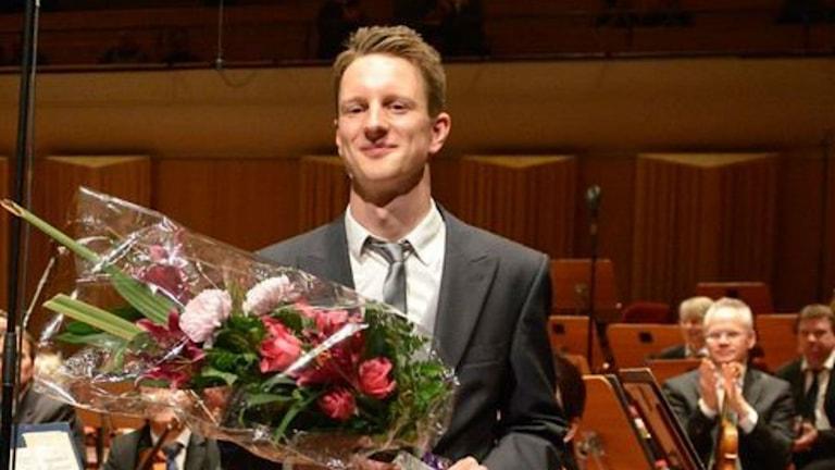 Sebastian Stevensson, vinnare av Solistpriset. Foto: Arne Hyckenberg
