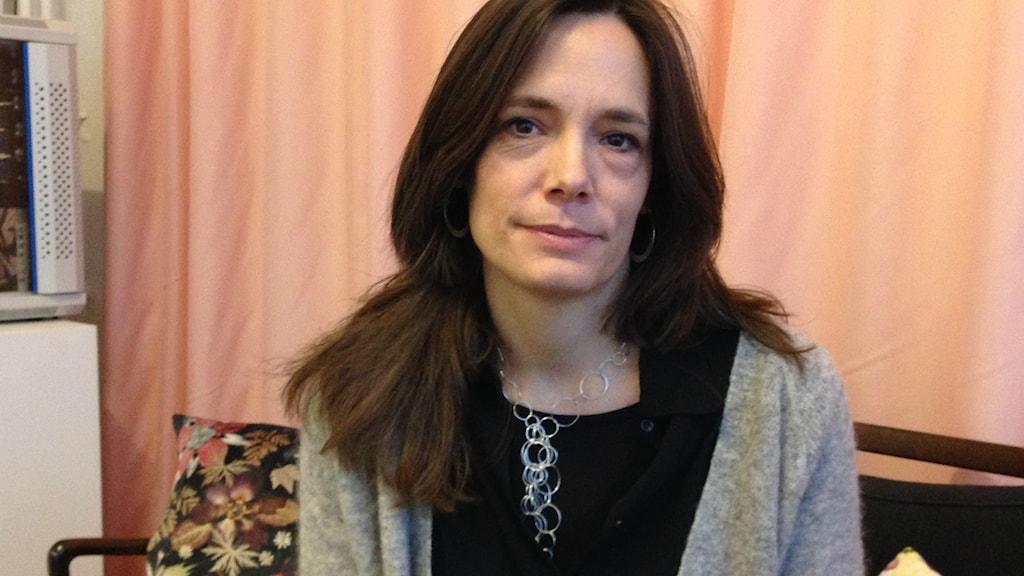 Magdalena Malm, direktör på Statens konstråd. Bild: Teresa Kristoffersson