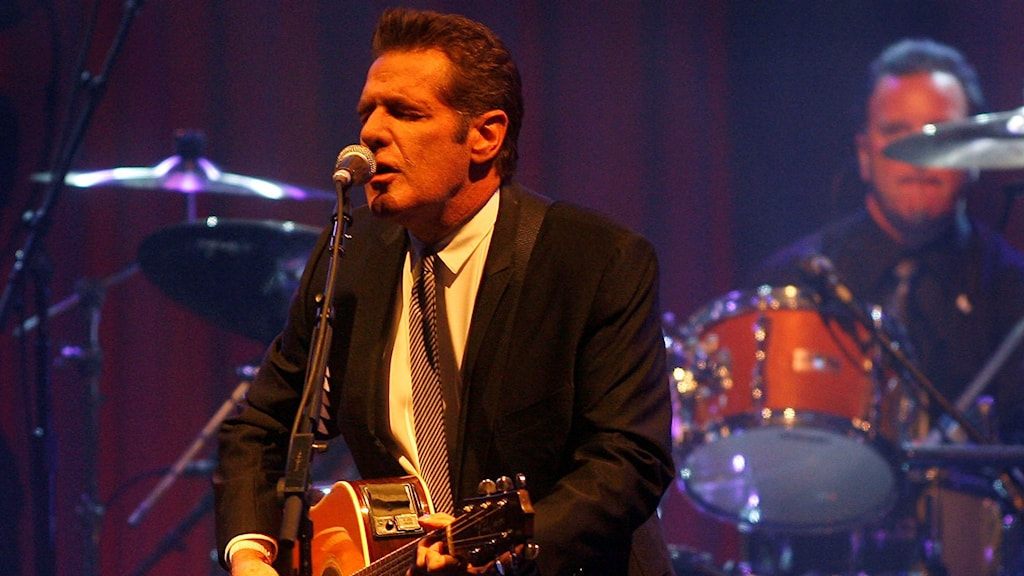Glenn Frey, i Eagles gick bort på måndagen. Foto: AP/TT.: