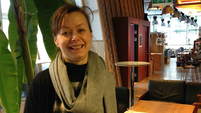 Sara Lönnroth som skrivit rapporten. Bild: Teresa Kristoffersson/SR