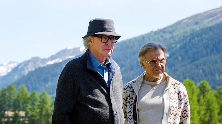 """Michael Caine och Harvey Keitel i filmen """"Youth"""". Foto: AP/TT."""