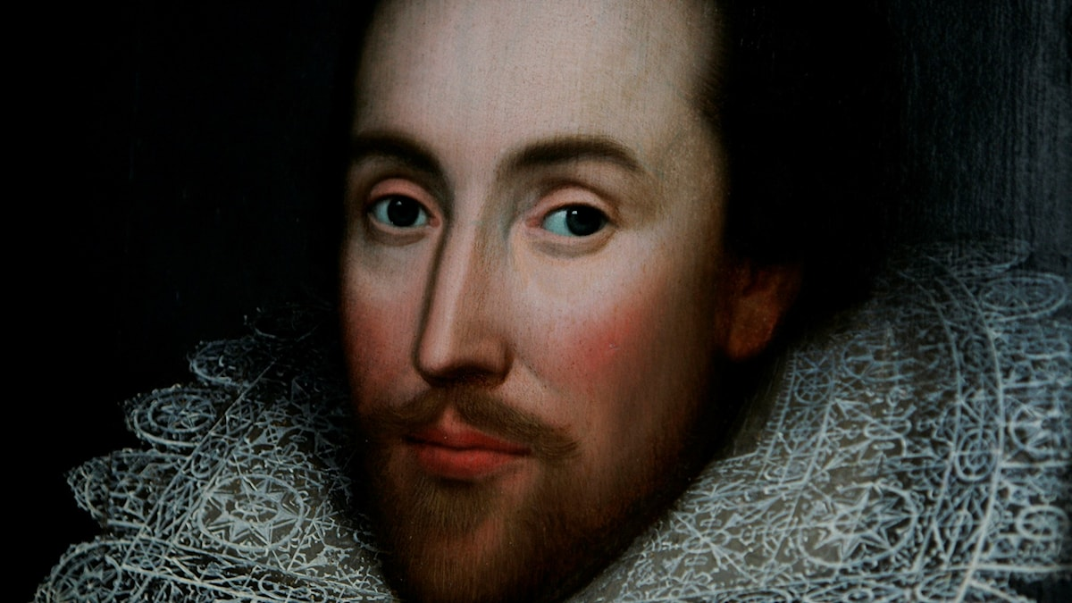 William Shakespeare. Foto: AP/TT.