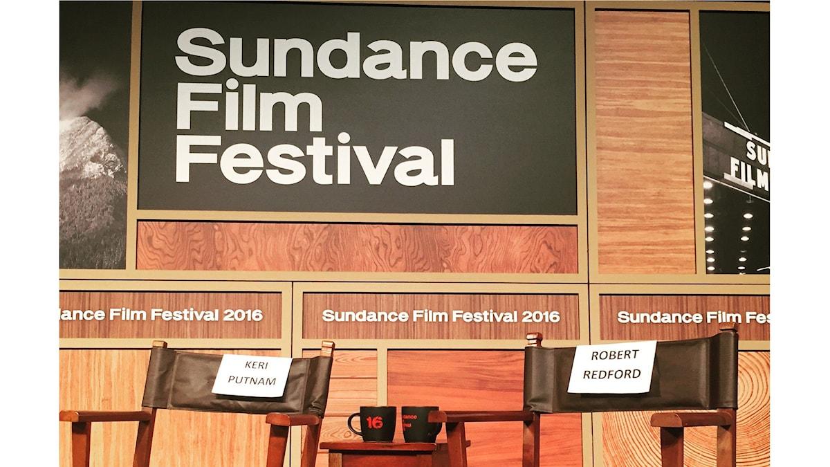 Sundancefestivalen. Foto: Lisa Bergström / SR