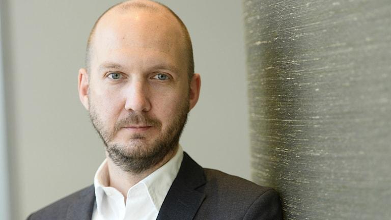 Reportrar utan gränsers ordförande Jonathan Lundqvist. Foto: Maja Suslin/TT