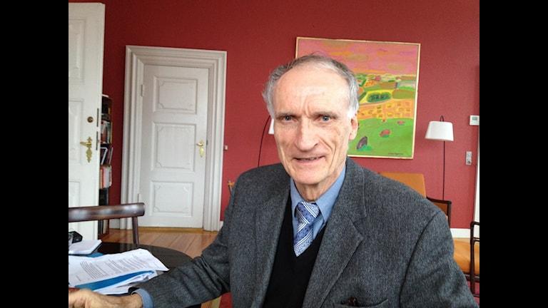 Kulturminister Bertel Haarder. Foto David Richter