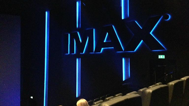 Imax-biografen i Solna. Bild: Maria Georgieva/SR