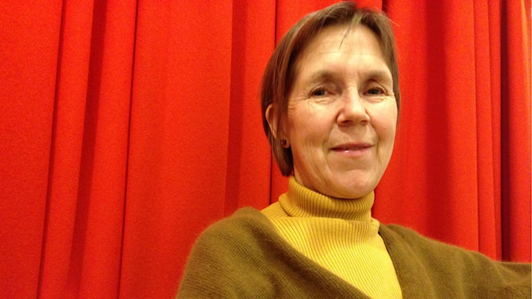 Ann-Sofi Noring vice-intendent Moderna Museet. Foto: Simon Sarnecki, SR