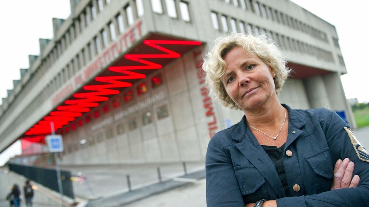 Anna Serner. Foto: Fredrik Sandberg/TT