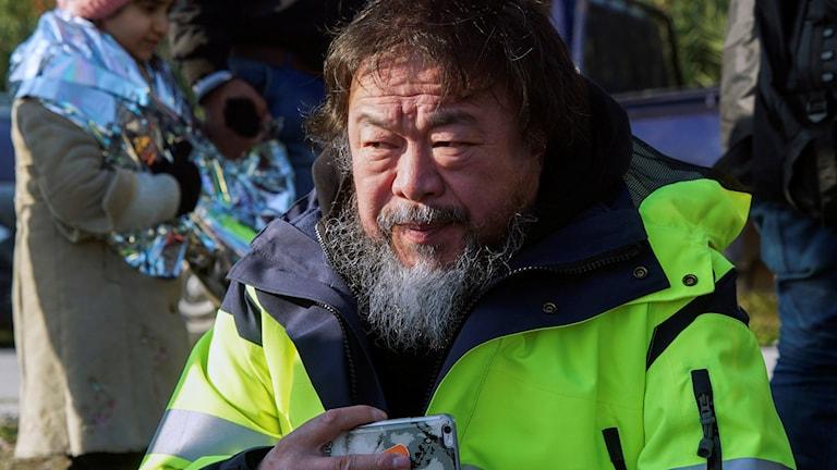 Ai Weiwei på Lesbos