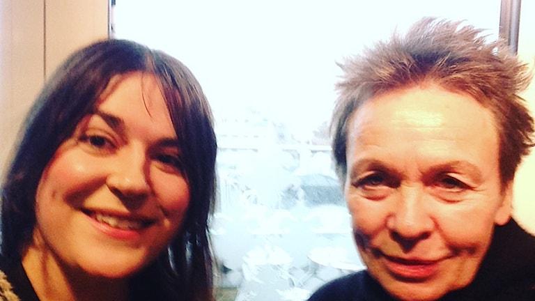 Laurie Anderson och Maria Georgieva