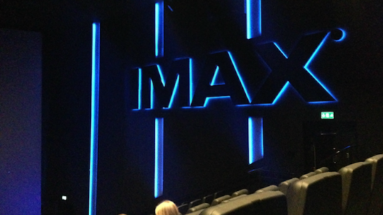 The Imax-cinema in Solna. Photo: Maria Georgieva/SR
