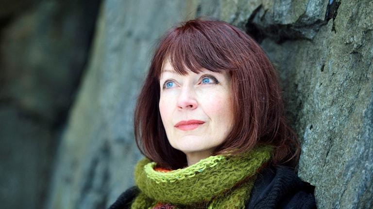 Författaren Inger Edelfelt. Foto: Henrik Montgomery/TT.