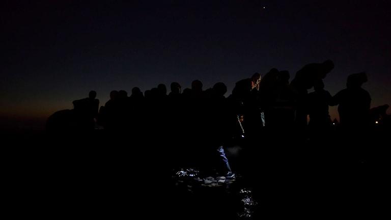 "Paul Hansens prisvinnande foto ""Under the Cover of Darkness"". (Bilden är något beskuren): Foto: Paul Hansen"