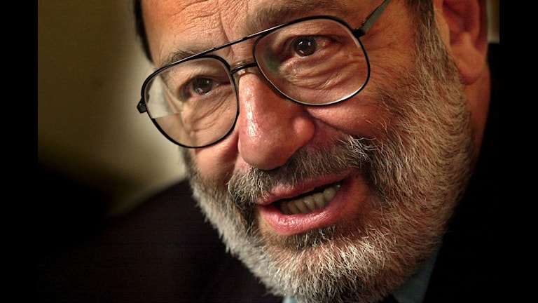 Den italienske författaren och filosofen Umberto Eco.