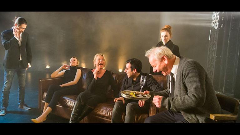"""Ensemblen """"Minnesstund"""" Foto: Bengt Wanselius"""