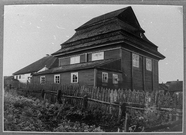 Polsk synagoga. Foto: S.Zajczyk, 1936