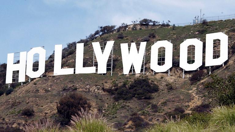 Hollywoodskylten.