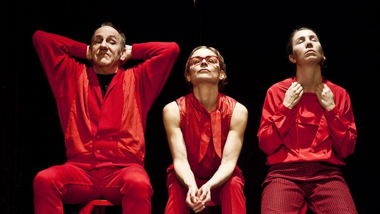 """Teater Tamauer spelar """"Utan personligt ansvar""""/Foto: Lina Ikse"""