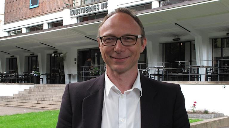 Mats Stjernstedt. Foto: Kunstnernes hus.