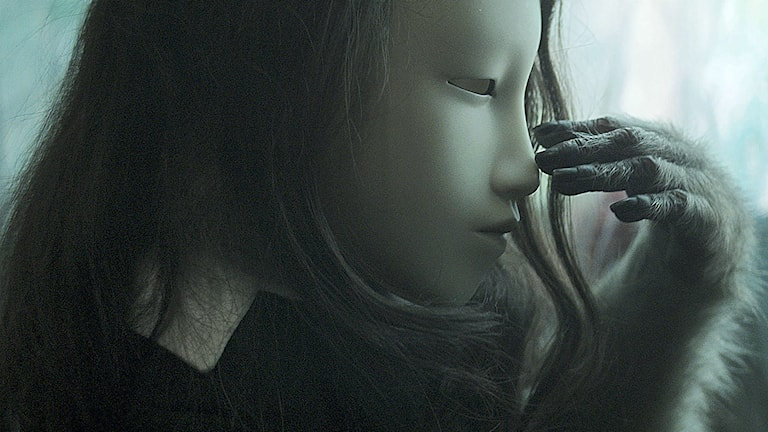 (utan titel) Human Mask av  Pierre Huyghes Human Mask 2014