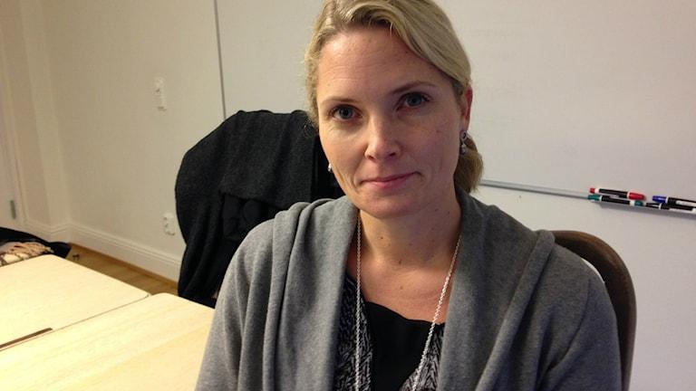 Helena Sundén, generalsekreterare på Institutet Mot Mutor. Bild: Teresa Kristoffersson