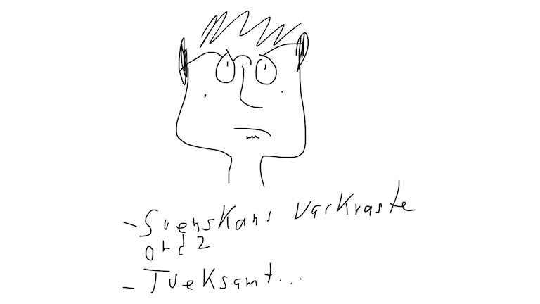 Veckans ord: Tveksamt. Bild: Mikael Timm