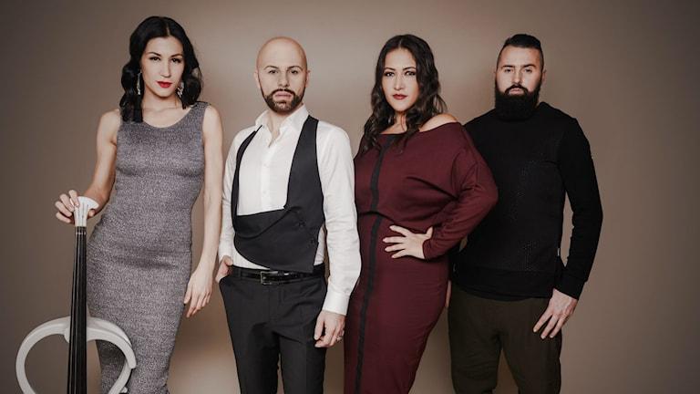 Bosnien-Hercegovinas artister Ana Rucner, Deen, Dalal och Jala