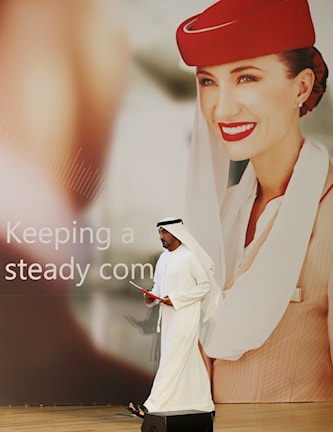 Litteratursponsor: flygbolaget Emirates.