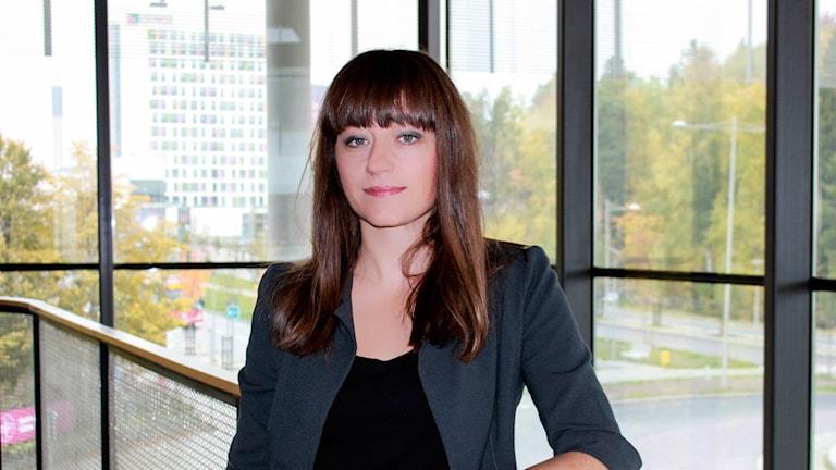Konstvetaren Katarina Wadstein McLeod. Foto: Södertörns högskola.